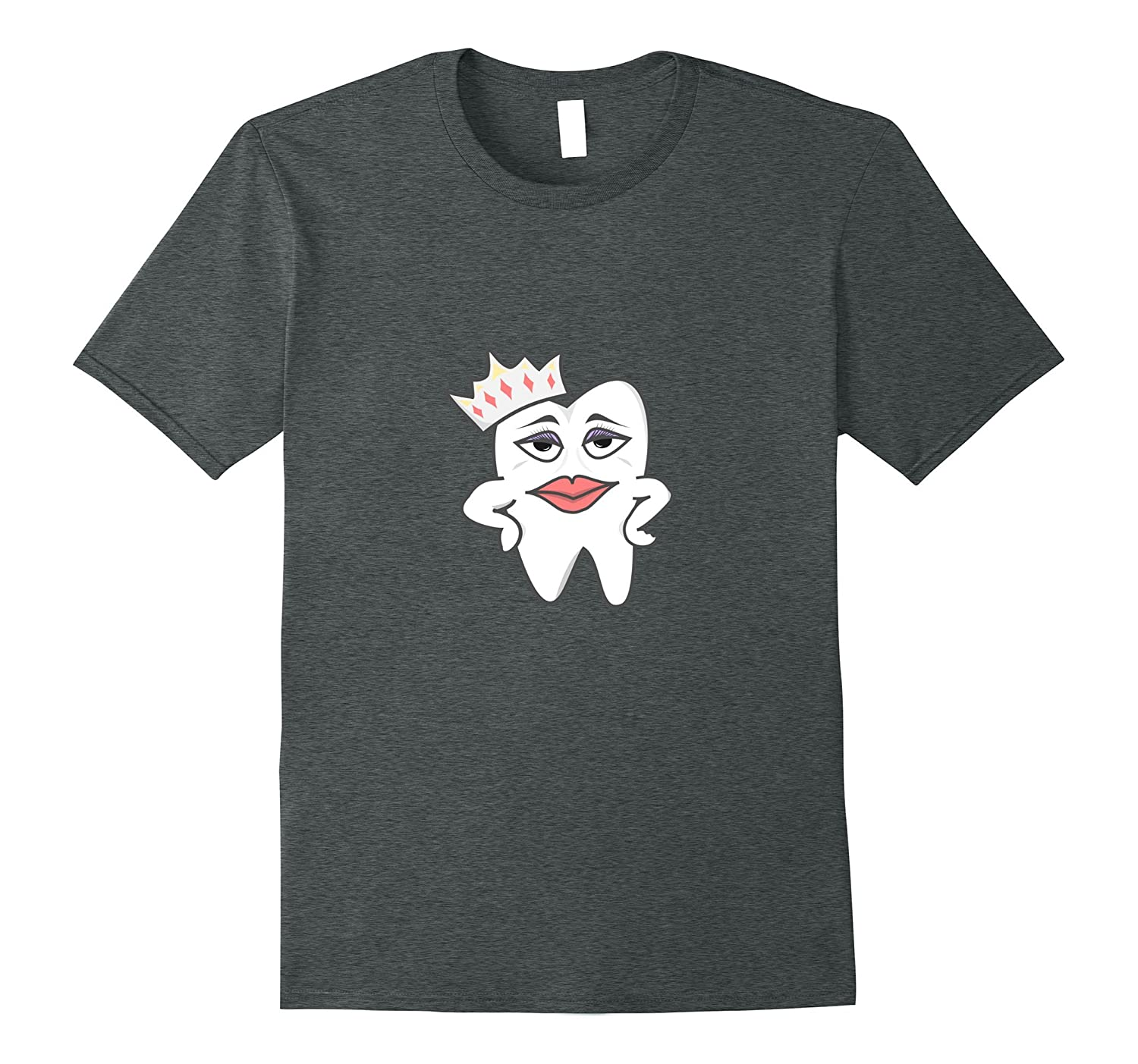 Funny Dental Hygienist T shirt Gifts for Dental- Tooth Queen-FL