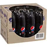 Pepsi Max Cola Soft Drink, 12 x 1.25L