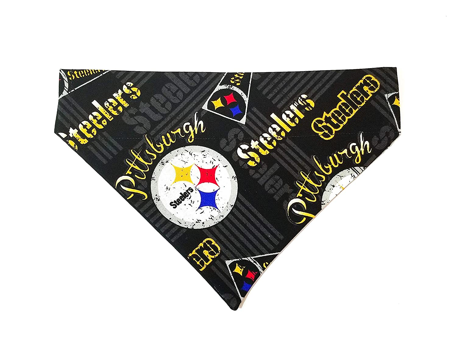 Pittsburgh Steelers Dog Bandana No-Tie Design