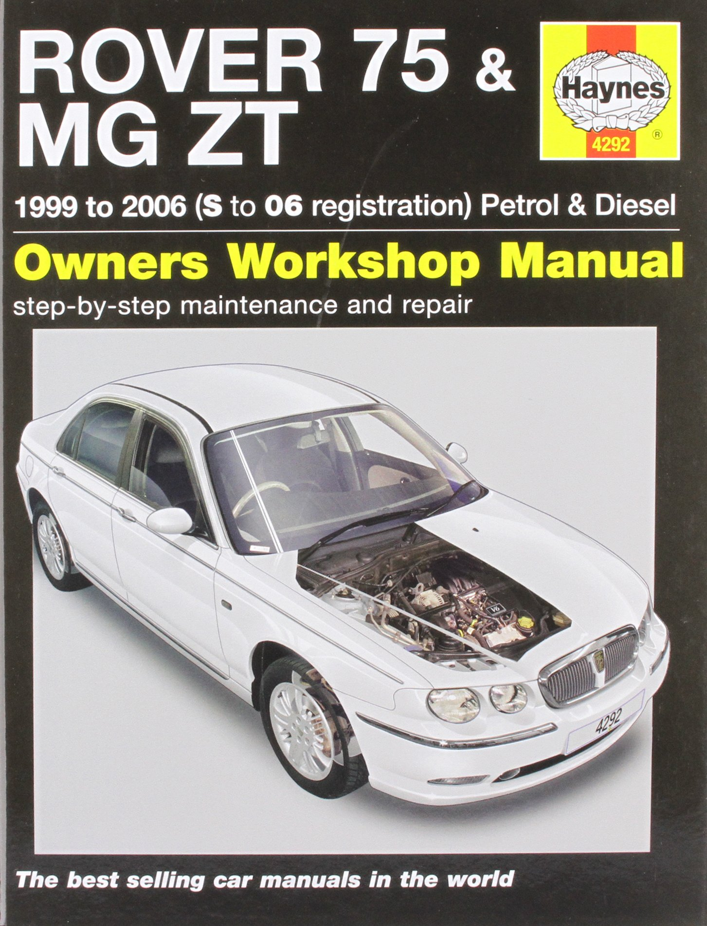 Rover 75 and MG ZT Petrol and Diesel Service and Repair Manual: 1999 to  2006 (Haynes Service & Repair Manuals): R. M. Jex: 9781844252923:  Amazon.com: Books