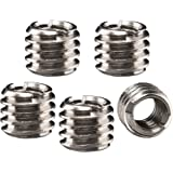 Walimex 1/4 inch to 3/8 inch thread adapter (set of 5)