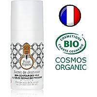 Crème Contour des Yeux Bio - Soin Anti Cernes Naturel Gelée Royale Haute Concentration - 15 ml