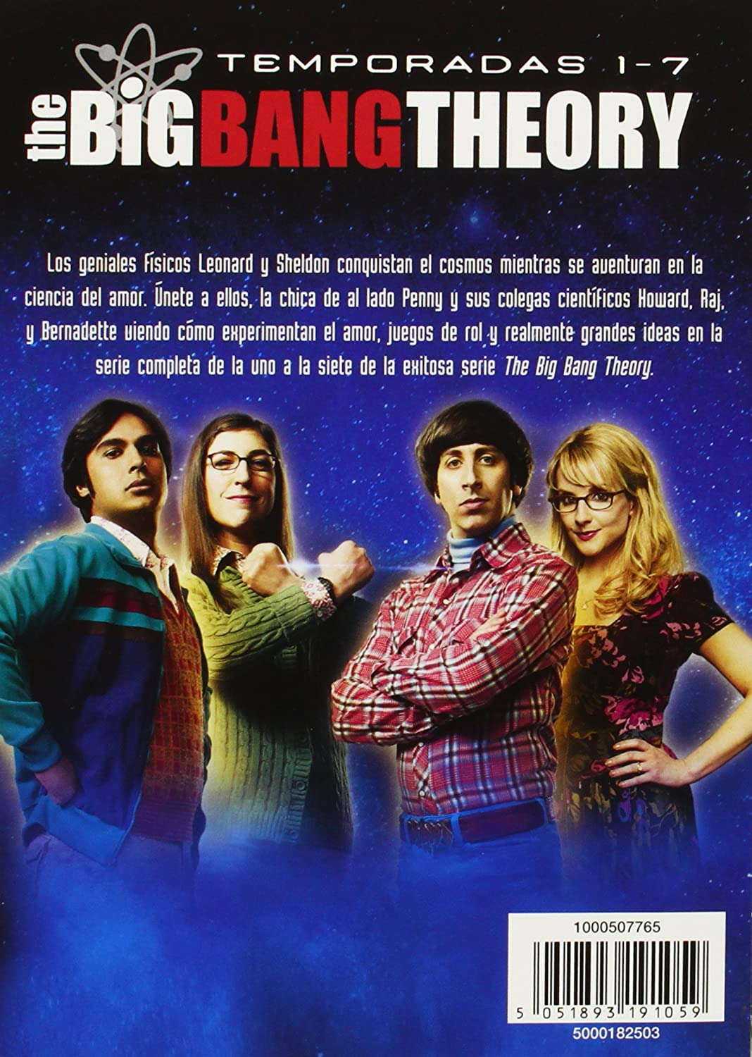 The Big Bang Theory Temporadas 1 7 Dvd Amazon Com Mx  # Muebles Big Bang Theory