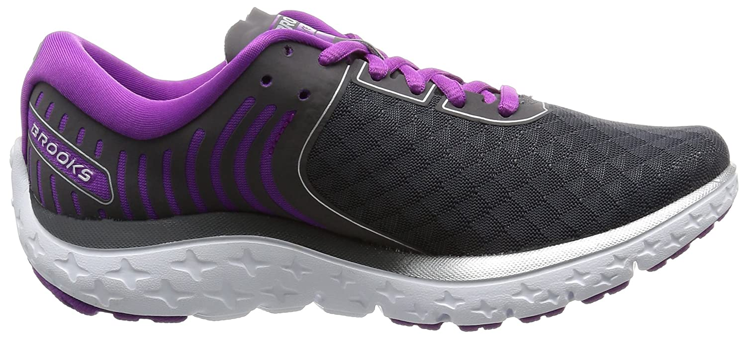 Brooks Women's PureFlow US|Anthracite/Silver/Purple 6 B01GEZV2ZG 8 B(M) US|Anthracite/Silver/Purple PureFlow Cactus Flower 8e6fd6