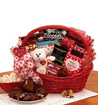 Amazon Com My Sugar Free Valentine Gift Basket Gourmet Candy