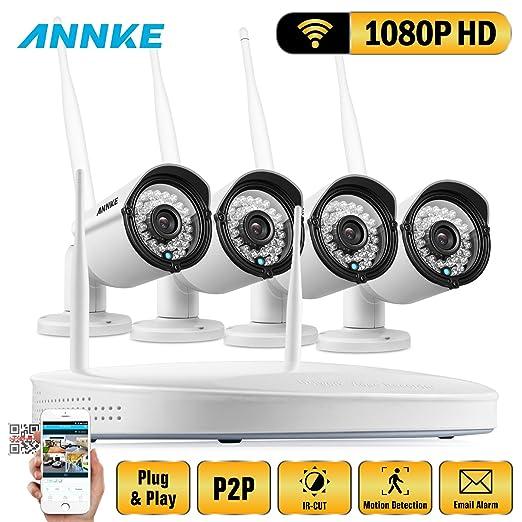 6 opinioni per ANNKE Kit 1080P Wifi NVR 4 Canali 4