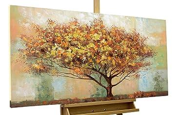 Kunstloft Tableau Peinture Sur Toile à Lhuile Terrain Inhabité