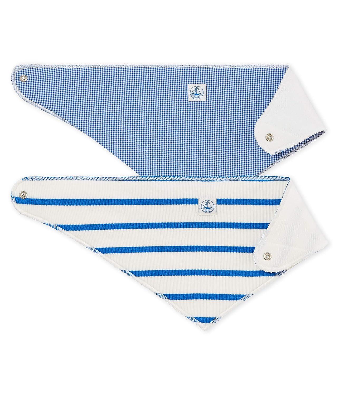 Petit Bateau LOT BADIA Foulard Mixte bébé Bleu (Variante 1 00) Taille unique (Taille fabricant:TU)