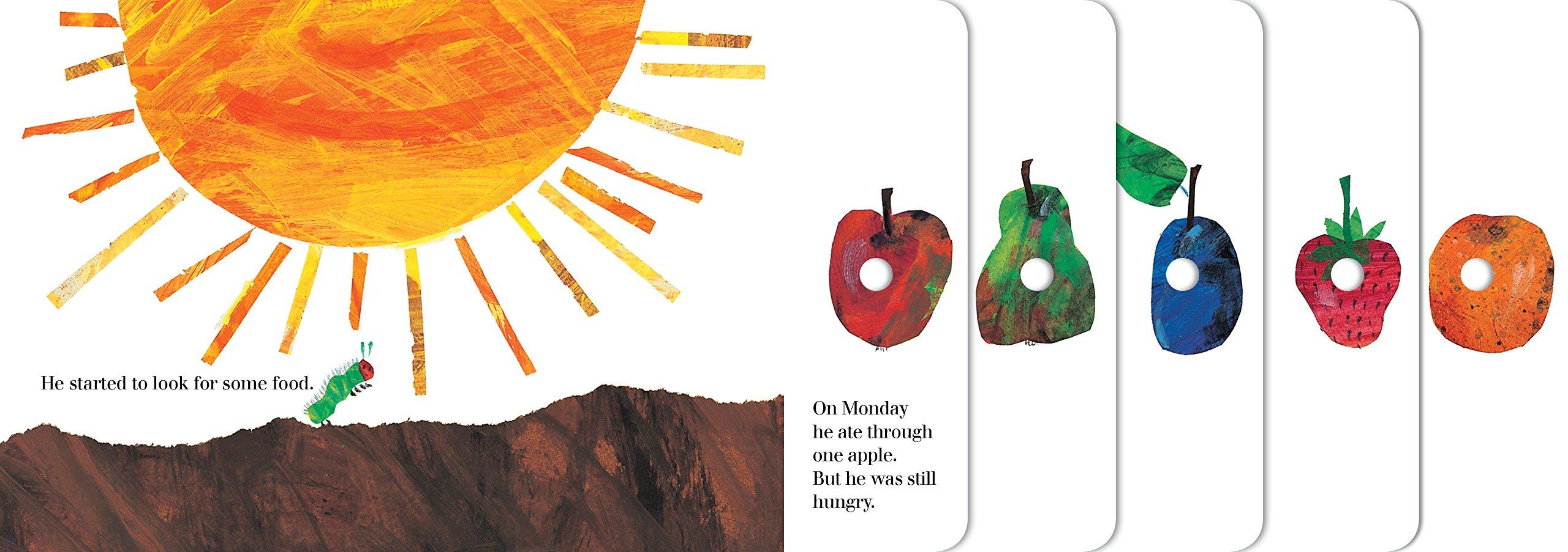 94b50fa8a48b Amazon.com  The Very Hungry Caterpillar (9780399226908)  Eric Carle  Books