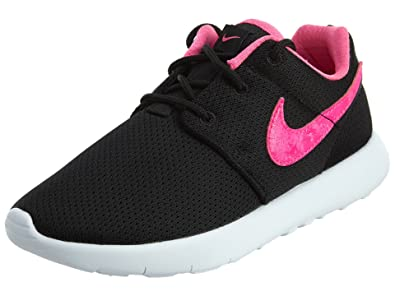 14bc531ceaa3c ... low cost nike roshe one big kids style shoes 749422 black pink blast  white cd5e5 2afce