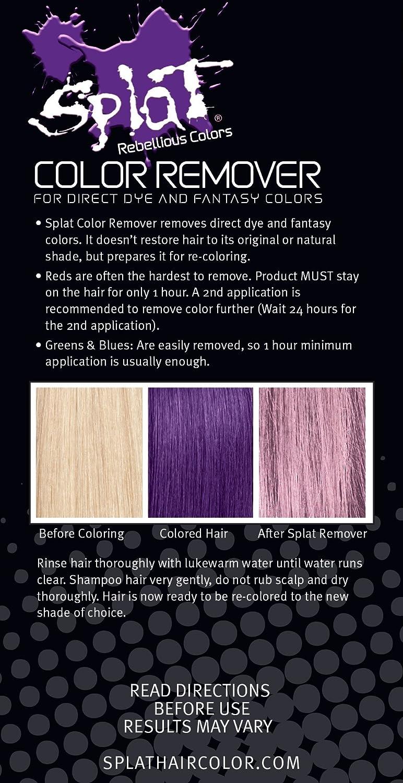Removedor de color para tinte directo y colores de fantasía