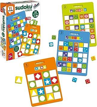 Oferta amazon: Diset- Sudoku Colors Juego Educativo para Niños, Multicolor (68969)