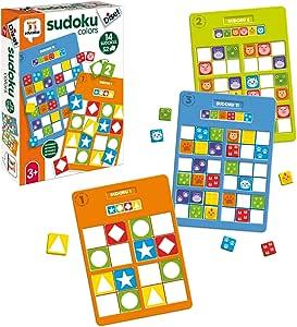 Diset- Sudoku Colors Educativo 3 años Juguete (68969