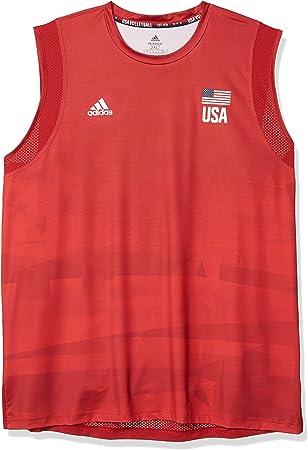 adidas USA Volleyball Jersey Primeblue Camisa, Hombre: Amazon.es: Deportes y aire libre