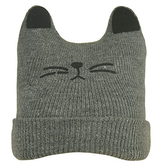 26d51fa1cac Amazon.com  1-4 Years Old Trendy Soft Stretch Cable Knit Beanie for ...