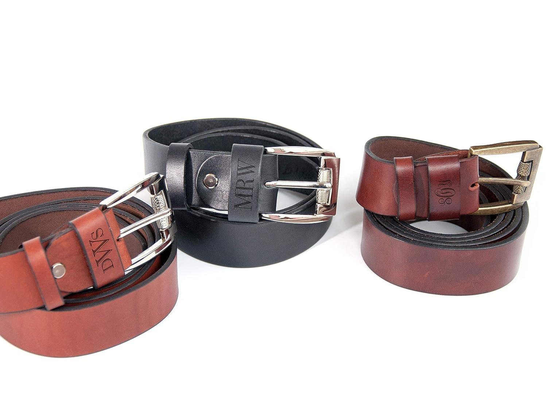 Men's Belt Personalized Leather Belt Anniversary Gifts for Boyfriend Gifts for Him Boyfriend Birthday Gift for Men Custom Engraved Belt Men Christmas Gift for Husband Groomsmen Belt