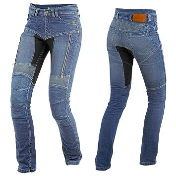 Trilobite Parado Dupont Kevlar Jeans Dames - Blau    Motorradjeans    inkl.  Protektoren 9a97ced7e3