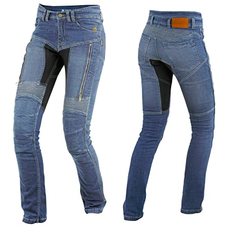 tril obite parado Dupont Kevlar Jeans Mujer – Azul
