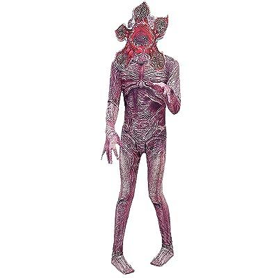 ugoccam Halloween Cosplay Zentai Monster Jumpsuit Bodysuit: Clothing