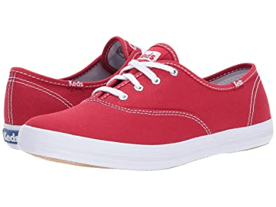 7695ebe7f0861 Image Unavailable. Image not available for. Color  Keds Women s Champion  Original Canvas Sneaker ...