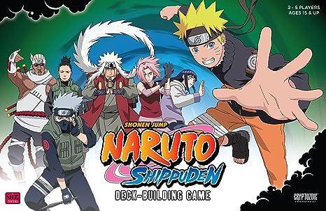 Amazon.com: Naruto Shippuden Deck Building Game: Cryptozoic ...