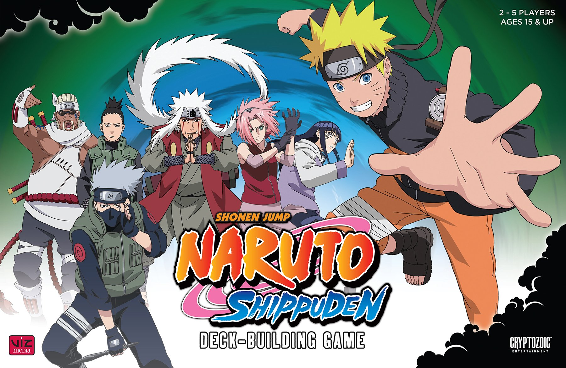 Naruto Shippuden Deck Building Game by Cryptozoic Entertainment