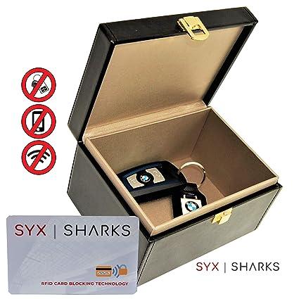 SYX SHARKS bloqueador de señal para llave de coche - Jaula ...