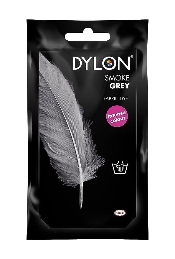 Dylon - Tinte Para Tela a Mano - 10x14x7.8 cm, Humo Gris.