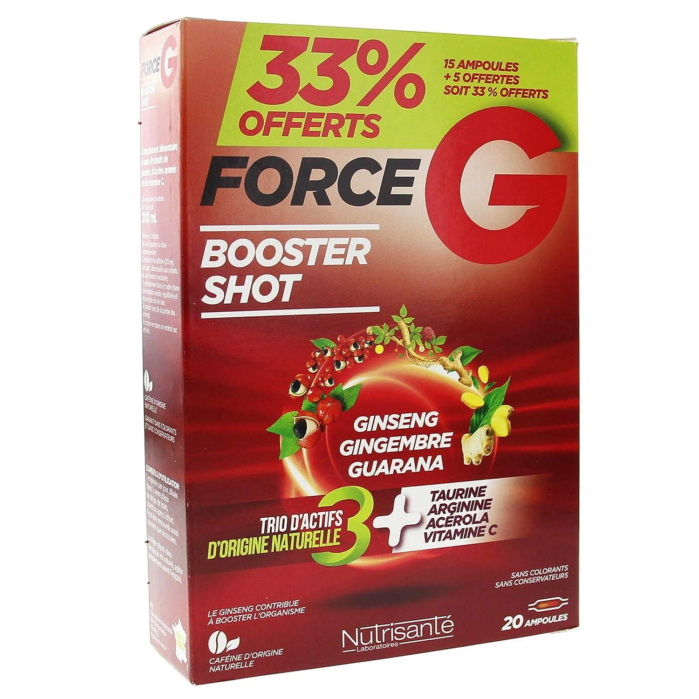 NUTRISANTE - Nutrisanté Force G Power Max 20 Ampoules: Amazon.es: Salud y cuidado personal