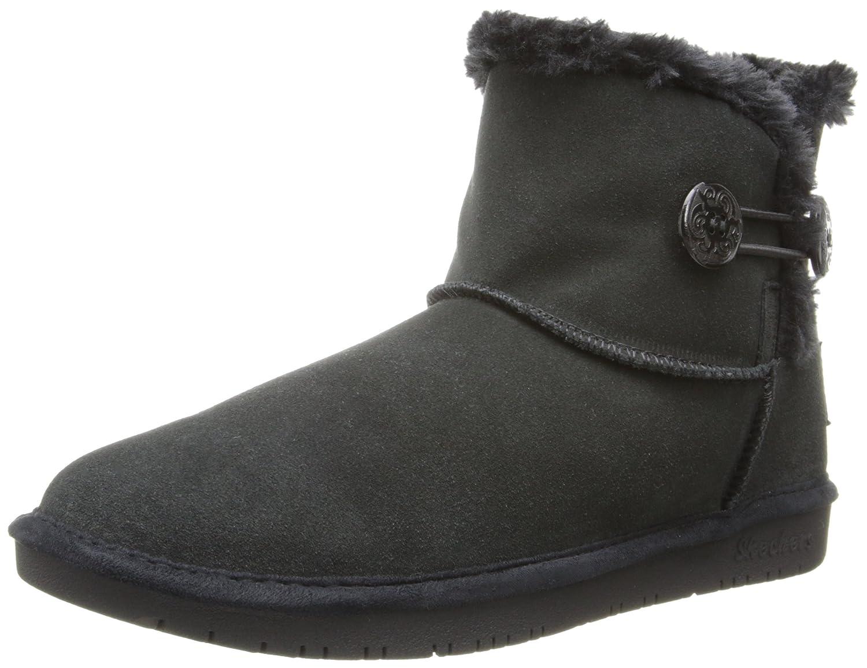 Skechers Shelbys Ottawa Damen Halbschaft Stiefel  35 EU|Schwarz (Blk)