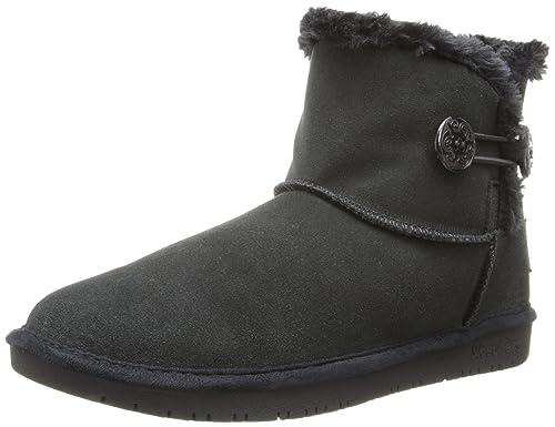 Skechers Shelbys - Ottawa, Women's Ankle Boots, Black (Black), 2 UK