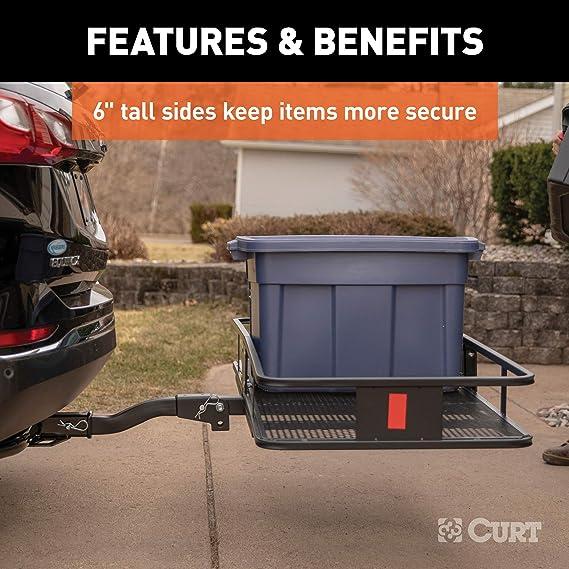 Curt cesta estilo cargo Carrier: Amazon.es: Coche y moto