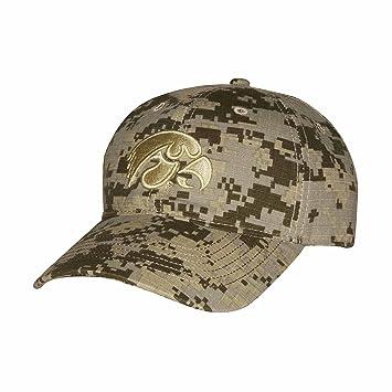 finest selection 96603 0cf04 ... release date ouray sportswear ncaa iowa hawkeyes digital camo cap  adjustable size digital grey sand b90dc
