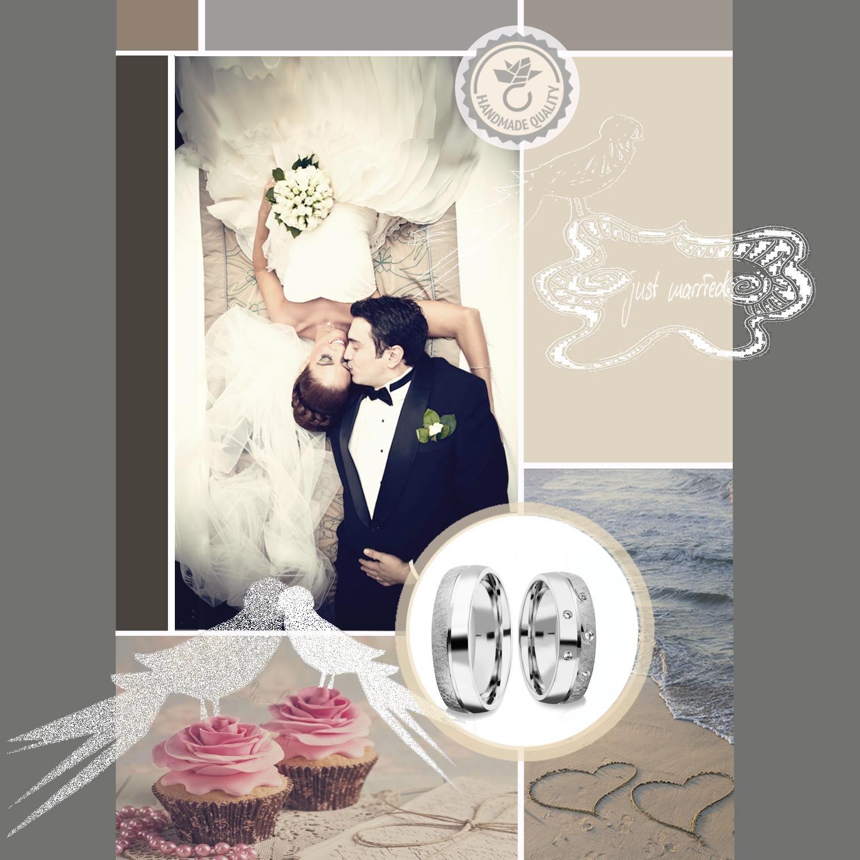 Partnerringe silber matt schlicht  Eheringe Verlobungsringe Paar Trauringe Freundschaftsringe Silber ...