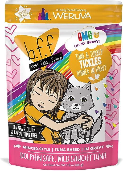 Weruva B.F.F. – Mejor Gatos Amigo sin Grano húmedo Cat latas de ...
