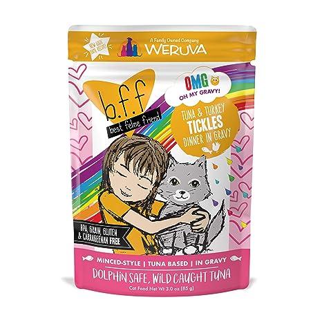 Weruva B.F.F. – Mejor Gatos Amigo sin Grano húmedo Cat latas de Alimentos y Bolsas Amarillo