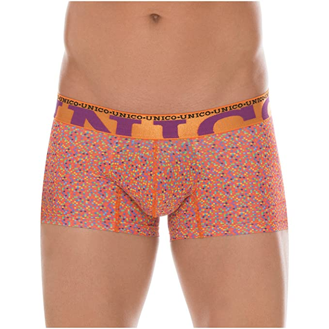 Mundo Unico Men Colombian Print Microfiber Short Boxers Briefs Calzoncillos L at Amazon Mens Clothing store: