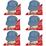 Childs Train Conductor Dress Up Kit - Hat Whistle and Bandana (6 per package)