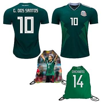 Ventilador – Mochila para niños México dos Santos # 10 hombres de Home/away jersey