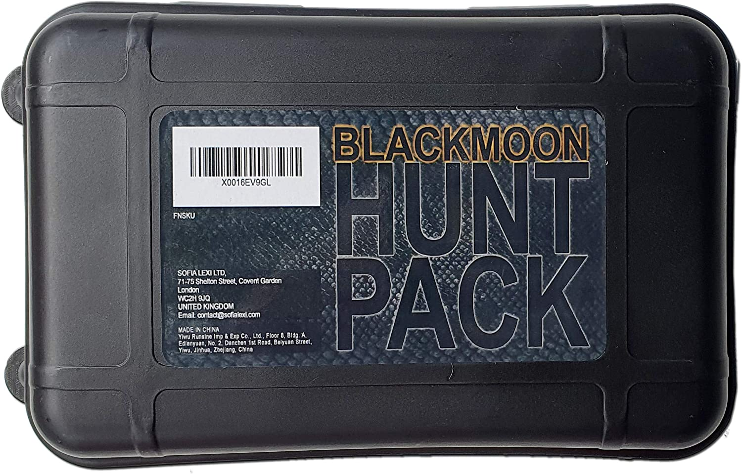 Blackmoon Emergency Survival Kit Quality Compact Easy to Carry Hunting Light
