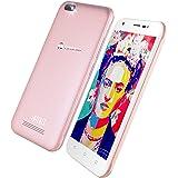Timovi Infinit MX 263039 Teléfono Celular, 8 GB Expandible a 64 GB, Android 7.0, Bluetooth, 1 GB RAM, Dual Sim, Color Rosa