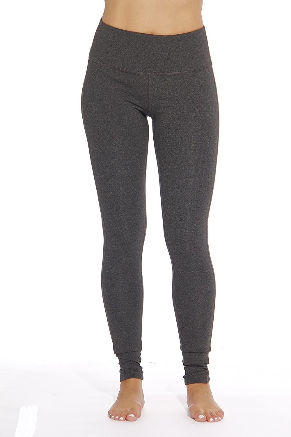 Just Love Stretch Yoga Pants for Women with Hidden Pocket 81EDlxHvf5L