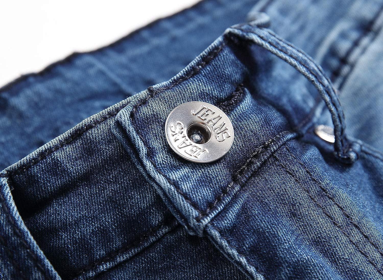OBT Big Boys Ripped Skinny Jeans Destroyed Stretch Slim Distressed Pants