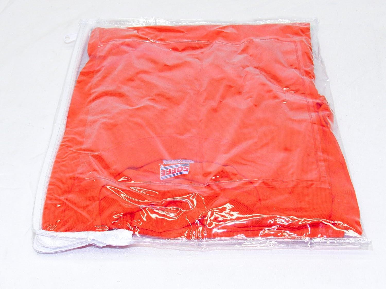 0.4 Gallon Sheets Shirts Storage Bags Oreh Homewares Heavy Duty Thin Vinyl Zippered 11 x 9 Fabrics Pants 10-Pack for Dresses Clear