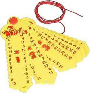 Amazon.com: Learning Wrap-ups Multiplication Keys, Yellow: Toys ...