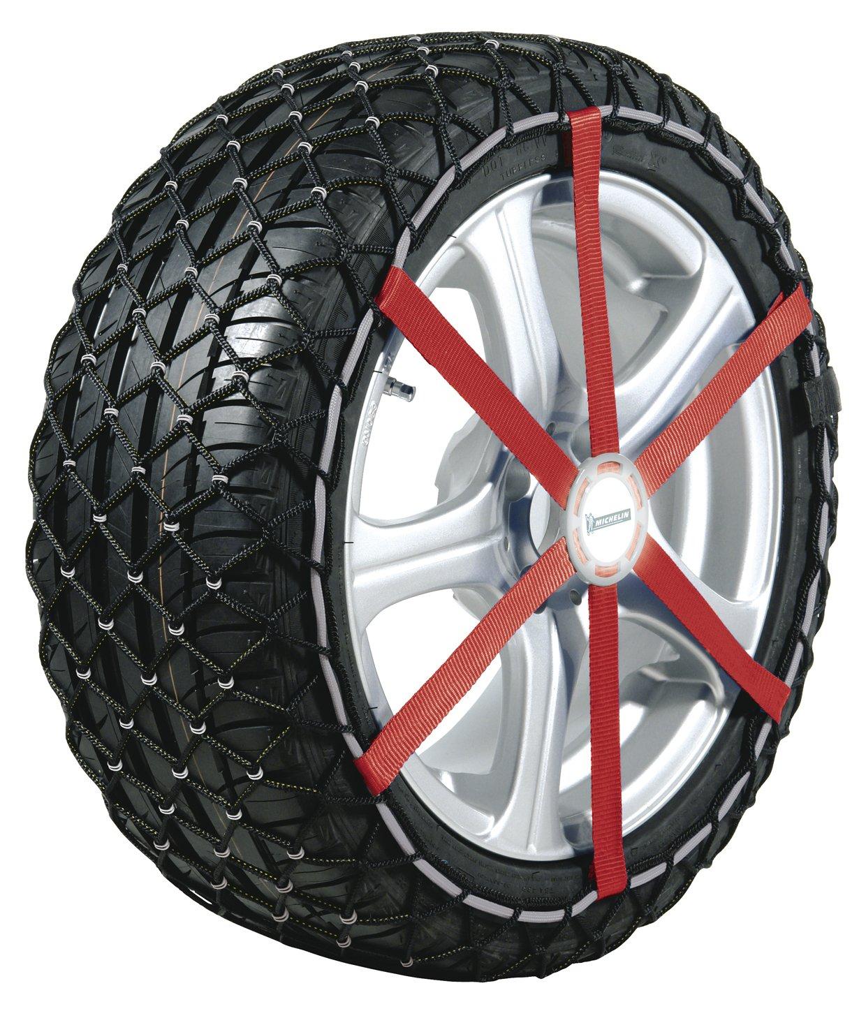 Coppia di calze da neve per pneumatici Michelí n Easy Grip misura S12, Specifiche per pneumatici: 215/55_R17 MICHELIN 30223190190