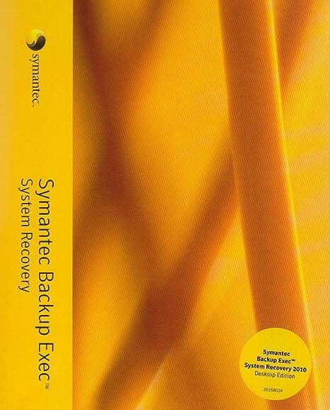 Amazon com: Symantec Backup Exec System Recovery 2010
