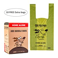 Dog Poo Bags - Poo Bags - Poo Bags for Dogs with Handles - Biodegradable Poop Bags - Dog Waste Bags