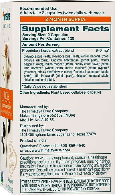 Himalaya uricare/Cystone, 240 Vcaps para renal y urinario de soporte de seguimiento, 840 mg: Amazon.es: Salud y cuidado personal