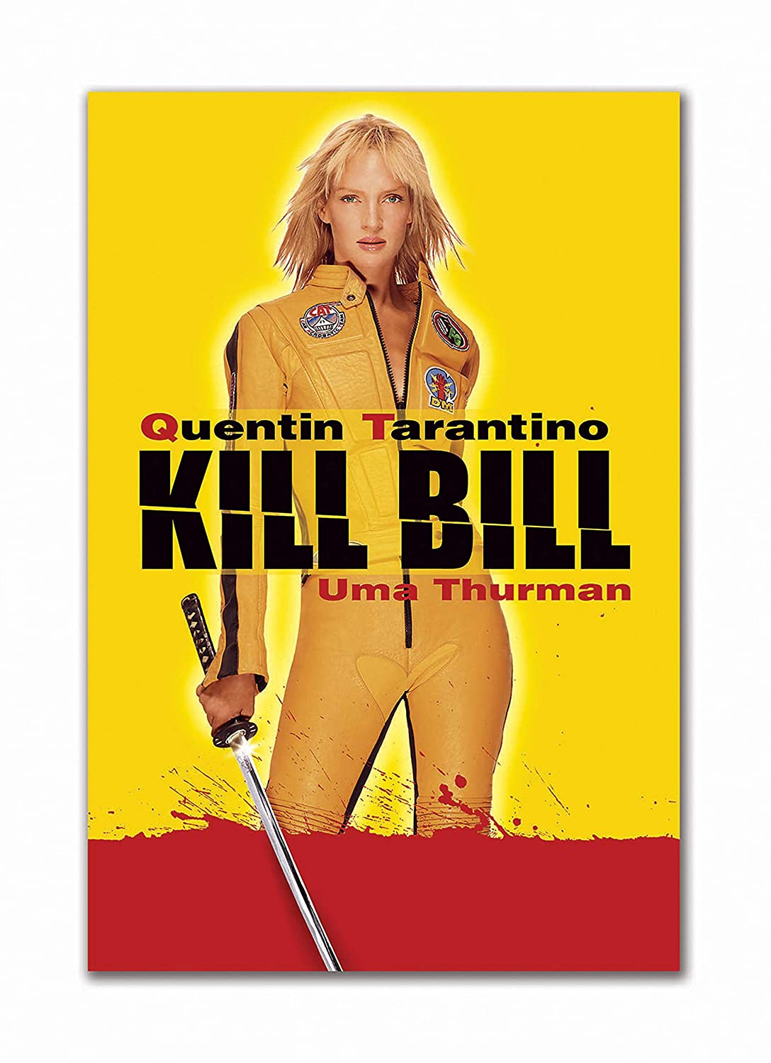 Tamatina Hollywood Movie Poster Kill Bill Volume 1 Crime Film Thriller Large Size Poster Hd Quality 36 Inches X 24 Inches 92 Cms X 61 Cms Amazon In Home Kitchen